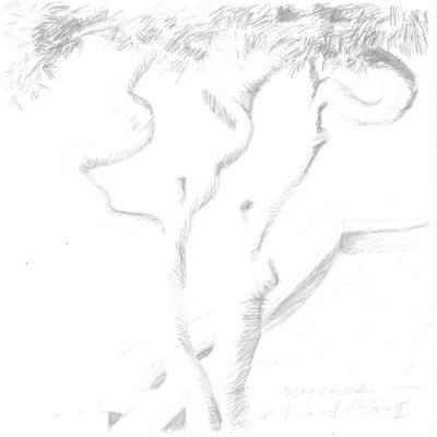 Ein Winter auf Mallorca I 15x15cm bleistiftzeichnungen